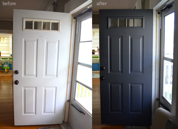Painting Front Door Two Different Colors | Euffslemani.com