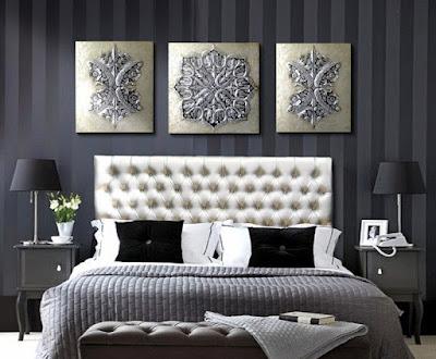 cuadros tripticos dormitorios