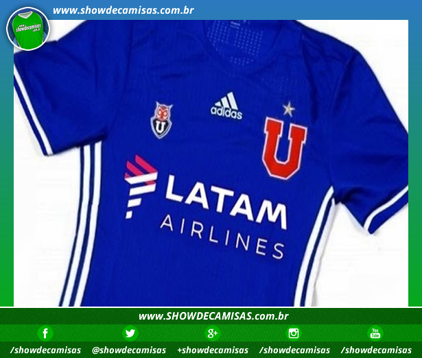 005074dd33 Nova camisa titular do Universidad de Chile tem imagem vazada - Show ...