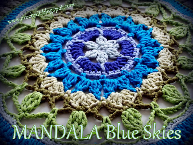 how to crochet, mandalas, crochet patterns,