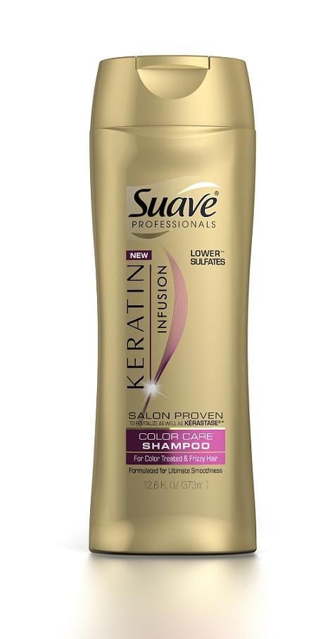 Suave Professionals Keratin Infusion Color Care Shampoo