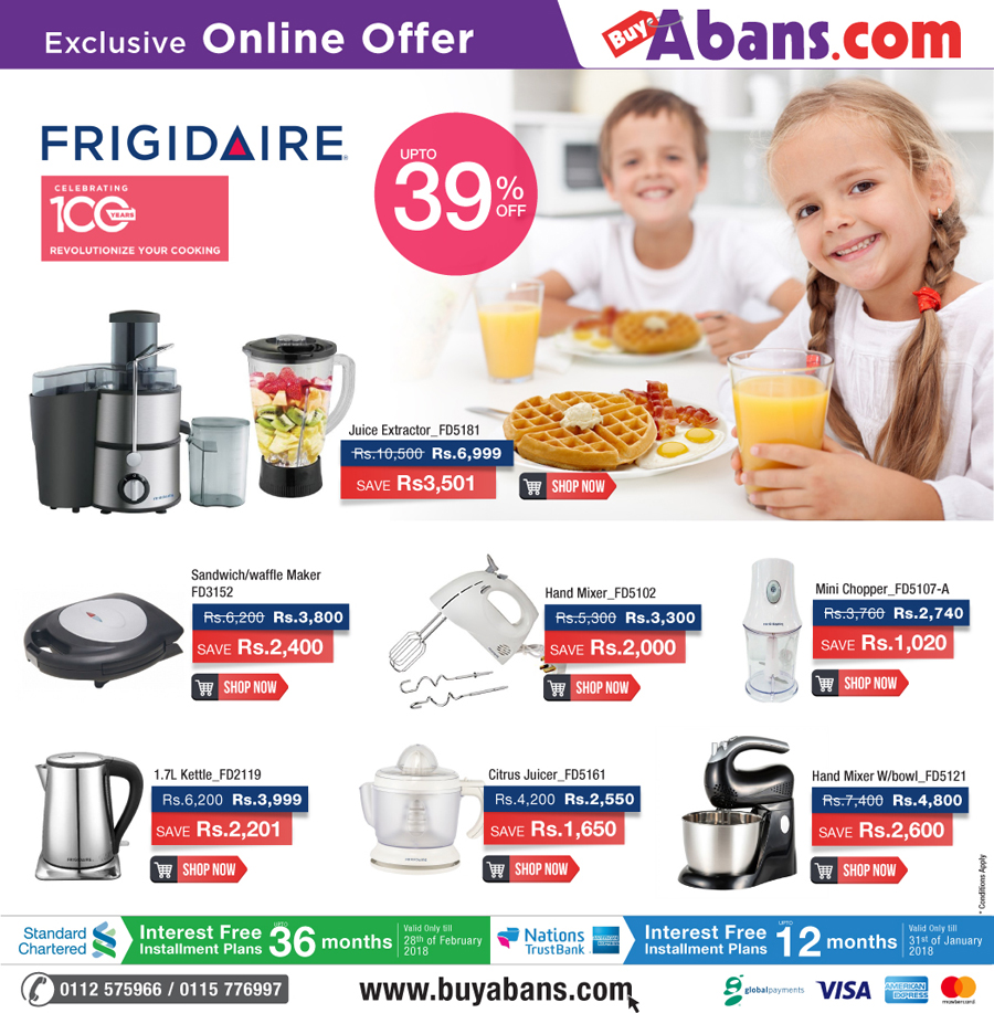 Revolutionize Your Cooking with Frigidaire Kitchen appliances!&Buy ...