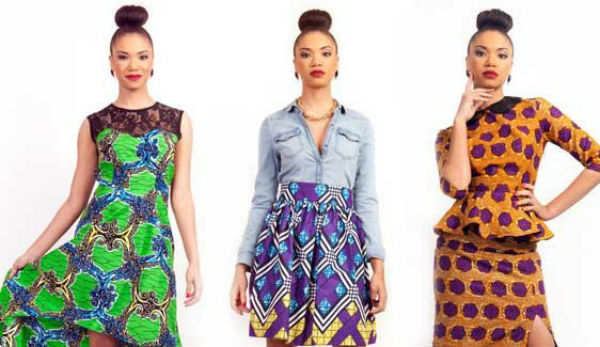 Dresses like African inspired skirts and others as the most trendy fashion clothing in UK