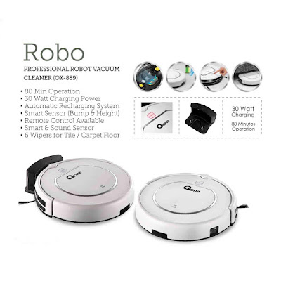 New Professional Robot Vacuum Cleaner  - Oxone Ox-889