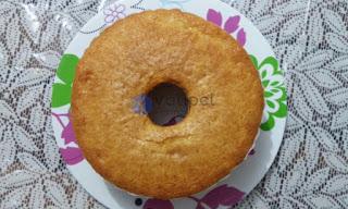 Refil bolo redondo com furo 450 gramas