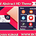 Colorful Abstract HD Theme For Nokia C3-00, X2-01, Asha 200, 201, 205, 210, 302 & 320×240 Devices