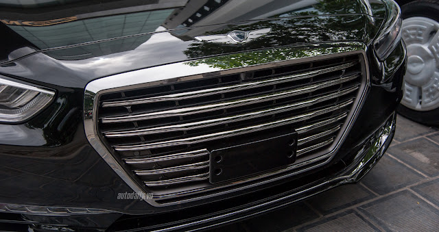 Genesis G90 Hình ảnh Hyundai Genesis G90 2016 tại Việt Nam Genesis 2BG90 2B 25286 2529