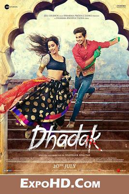 Dhadak 2018 Full Hindi Movie 720p   1080p Watch Online & Download Free