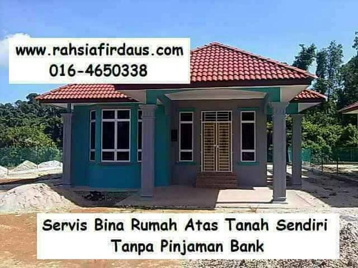 Servis Bina Rumah Atas Tanah Sendiri Encik Firdaus