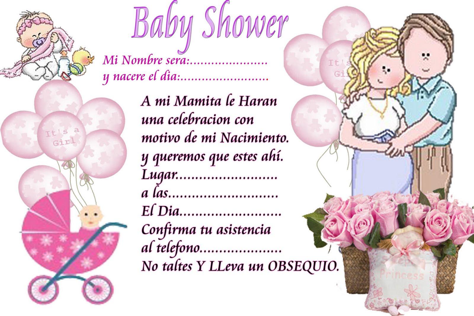 92 Invitaciones De Baby Shower Para Editar Y Descargar Gratis
