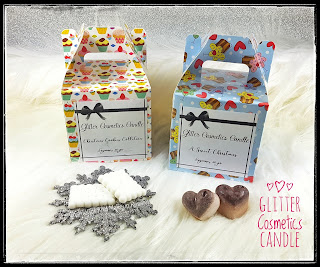 Box Natale 2017 - Limited Edition - Glitter Cosmetics Candle