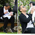 Wissam Al Mana took his and Janet Jackson's 3-month-old son, Eissa, to a London park