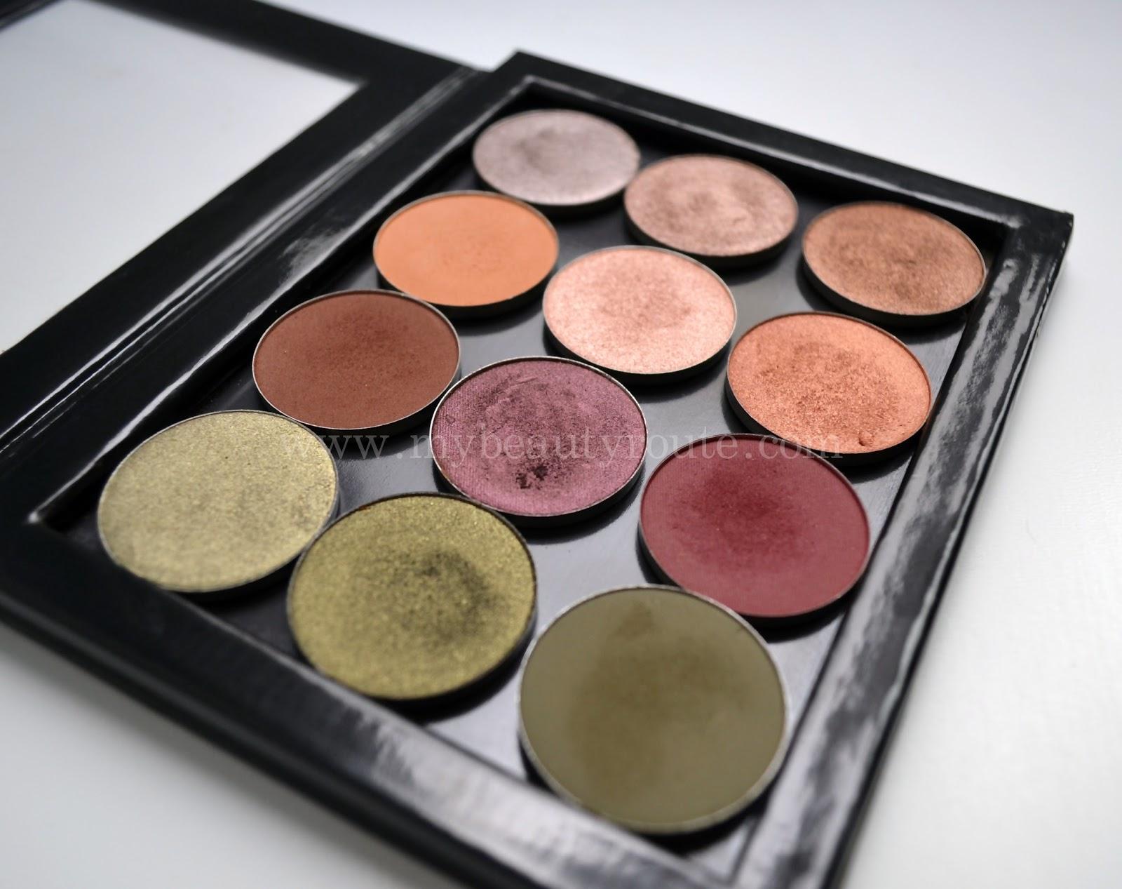 Perspectiva 2 paleta sombras de maquillaje tonos neutros Nabla cosmetcis