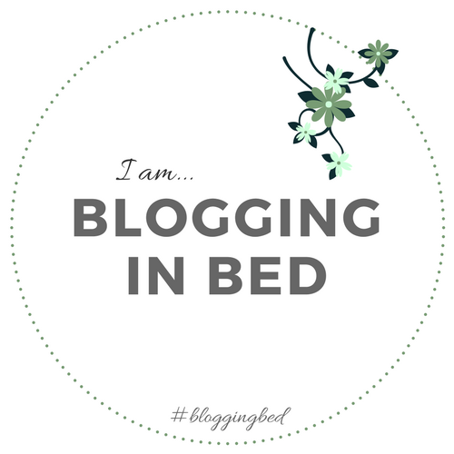 I'm a bed blogger