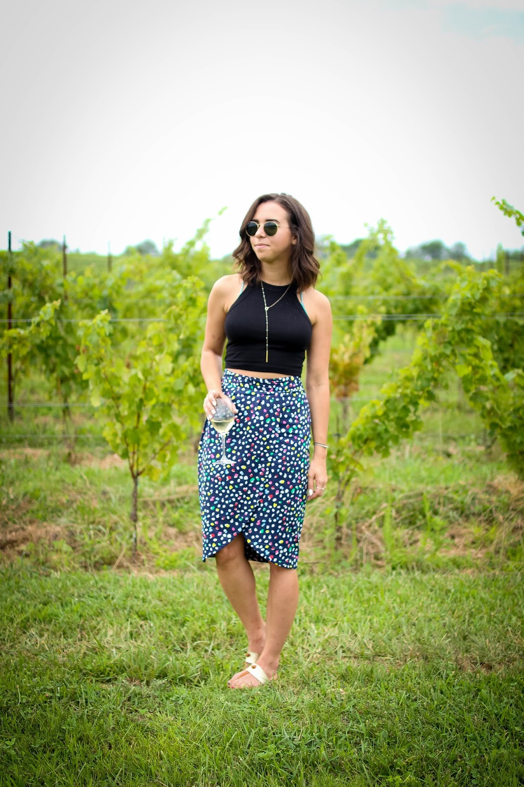 How to style a tulip skirt. | A.Viza Style | joie sandals - jcrew skirt - dc blogger
