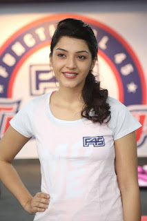 Actress Mehreen Kaur Pictures at F45 Training Fitness Gym Launch  0003