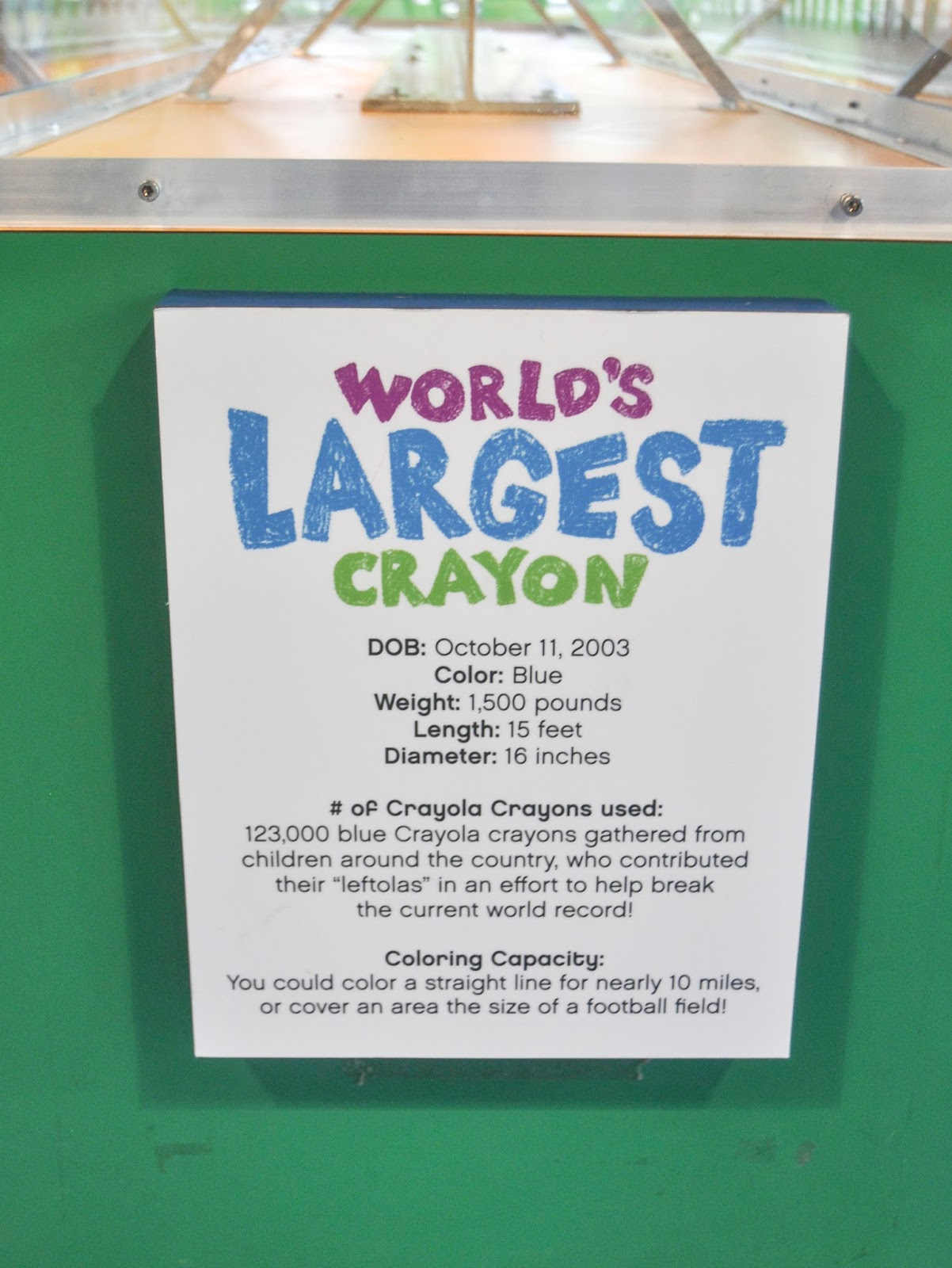 my visit to crayola experience in easton pennsylvania jenny s