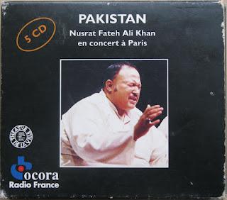 Nusrat Fateh Ali Khan, En concert à Paris, Ocora