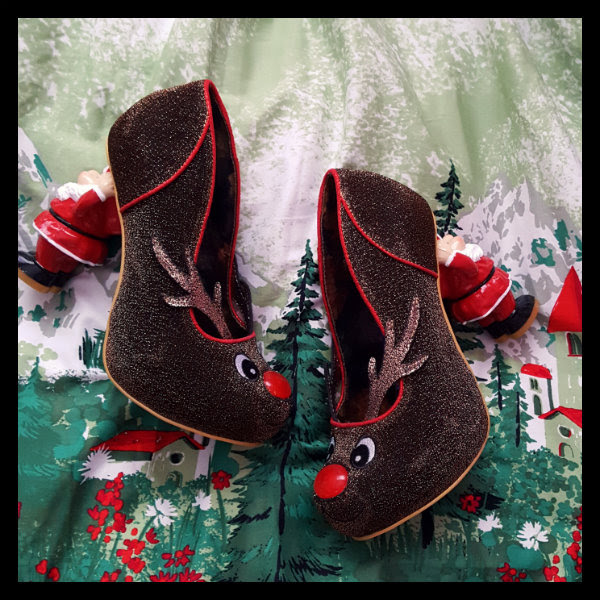 irregular choice christmas santa's ninth shoes