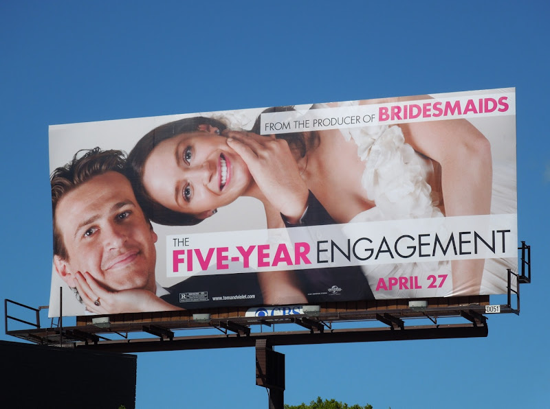 Five Year Engagement billboard
