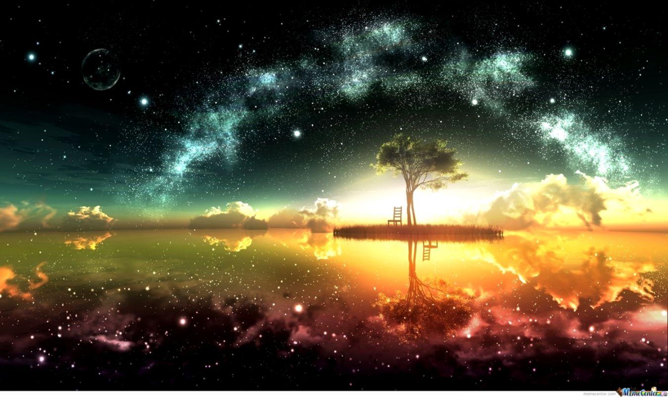 beautiful anime scenic wallpaper by darkluffyd4 meme center