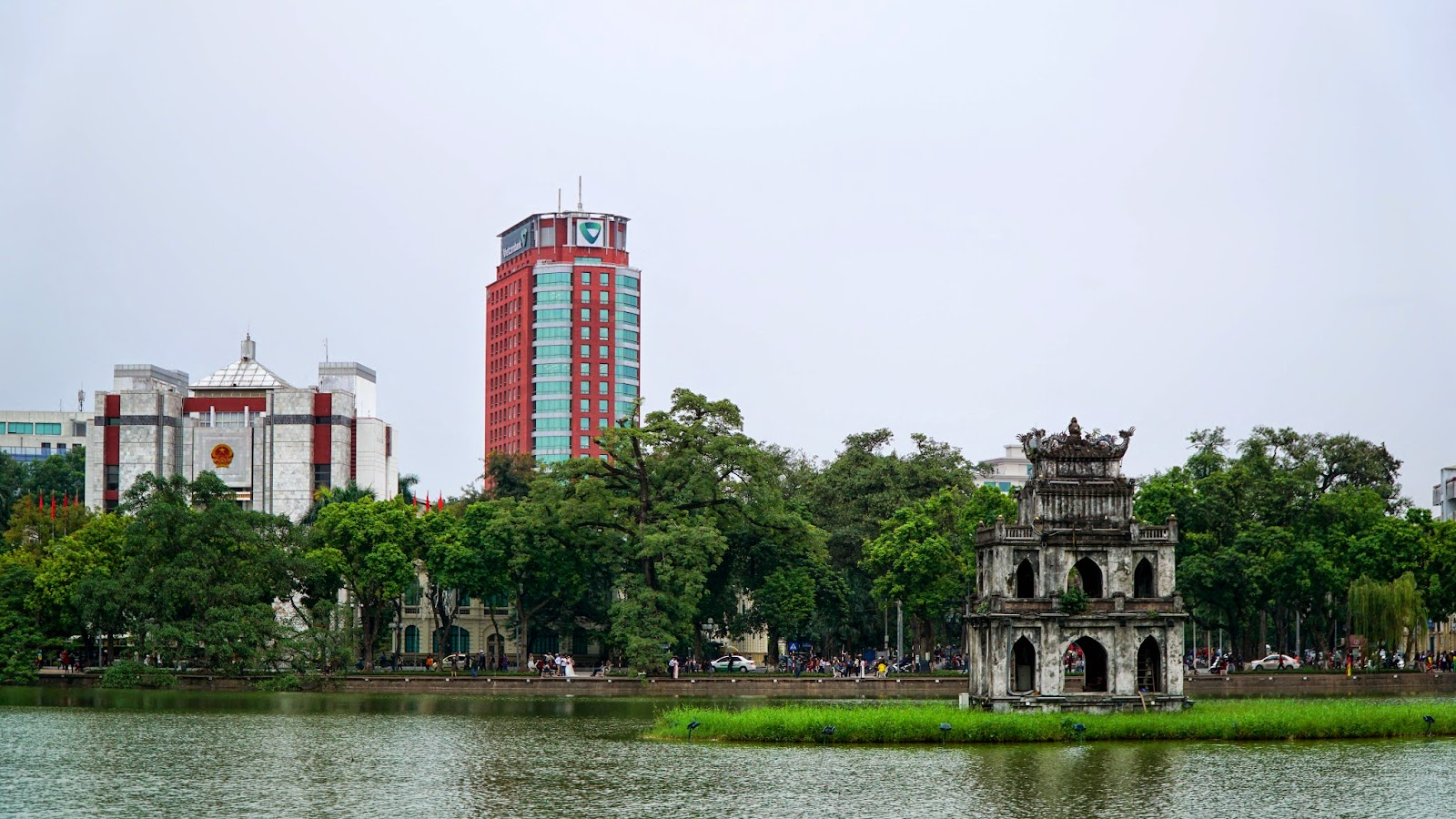Thap Rua, one of Hanoi's more recognizable landmarks