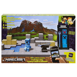 Minecraft Creeper Survival Mode Figure