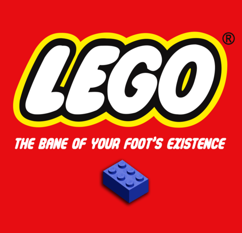 LEGO - The Bane of your foot's existence