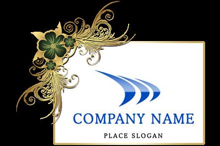 تنزيل تصميم شعار شركة جاهز للتعديل بالفوتوشوب, PSD Company Logo design Download