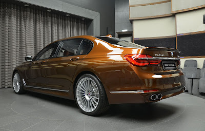 BMW Alpina B7 Bi-Turbo 2018 Review, Specs, Price