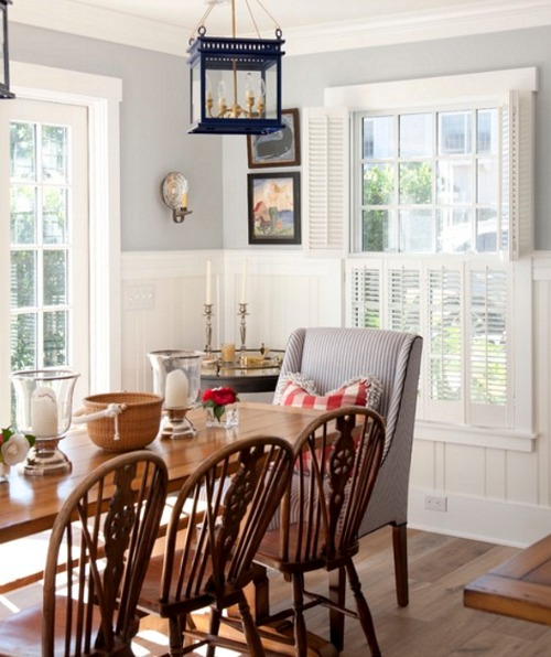 Nantucket Decor Dining Room