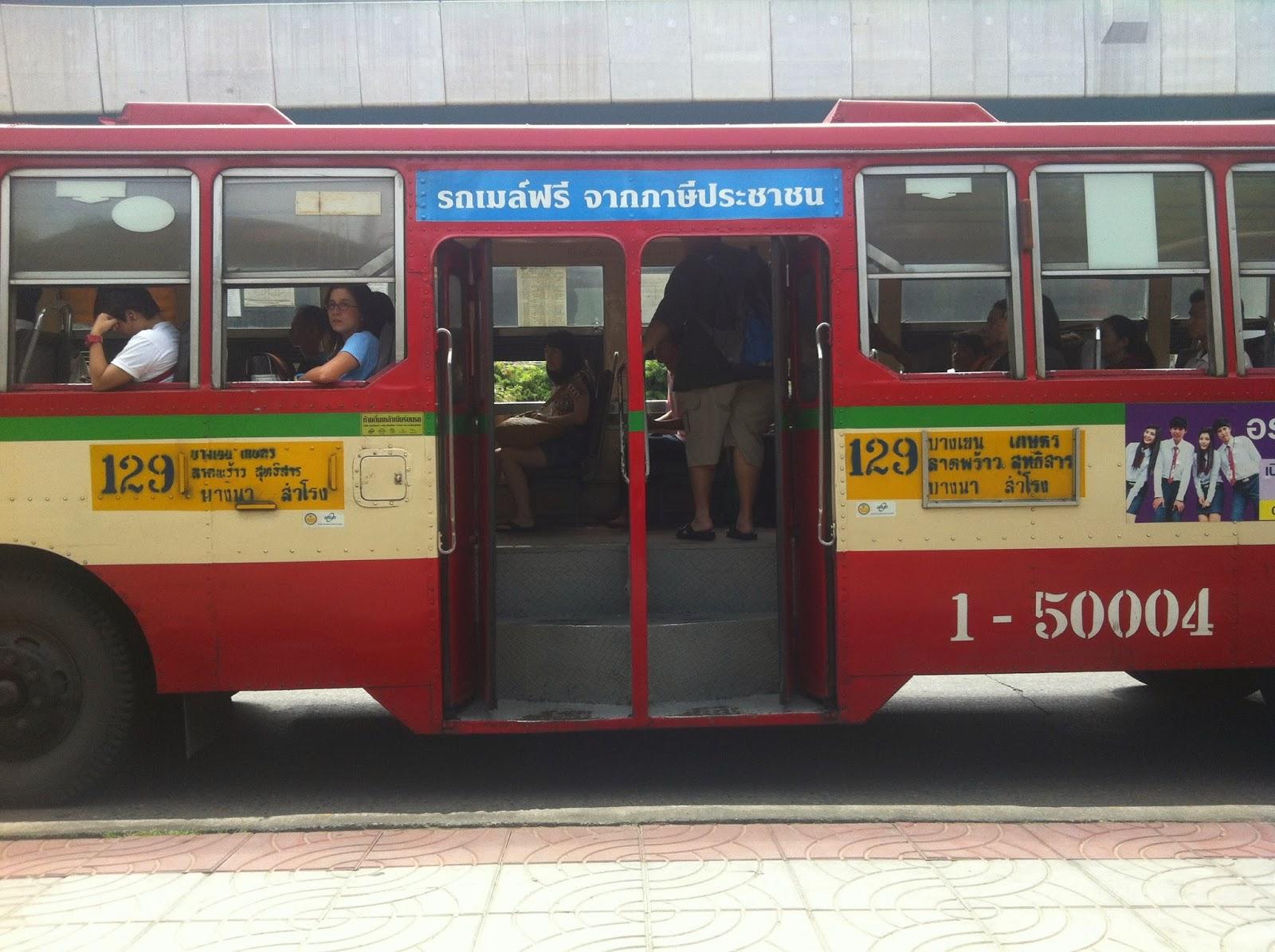 Bus URbano Bangkok