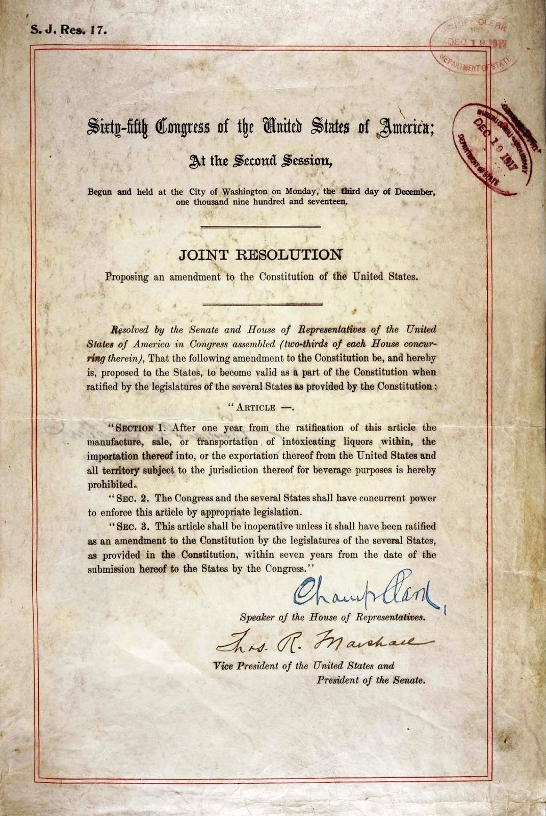 United States Constitution And Citizenship Day 18th And