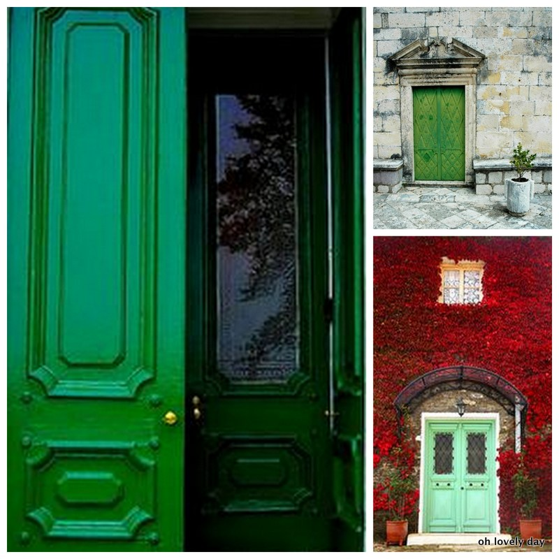 Where Did Shut The Front Door Come From: {Lovely Colors} Shut The Front Door + Wedding Translation