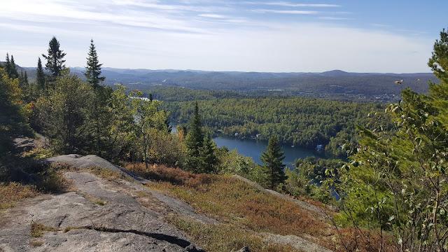 Vue panoramique à partir du Cap 360