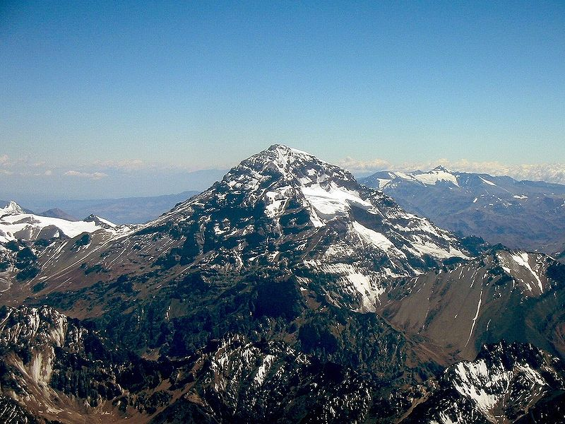 [Argentina] Mt. Aconcagua, Tallest Mountain In The Whole ...