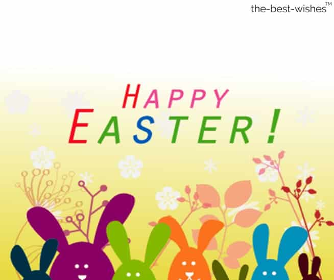 happy easter wishes to your family