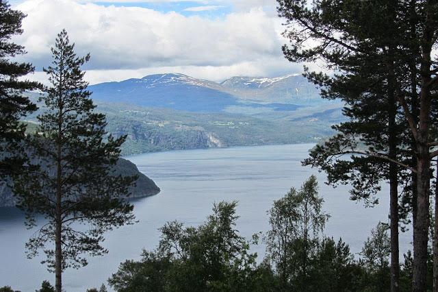 Noorwegen uitlopers Njordfjord