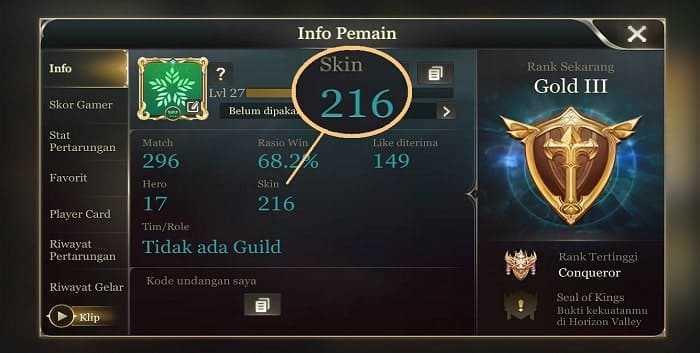 Cara Mendapatkan Semua Skin di Arena of Valor Secara Gratis Terbaru