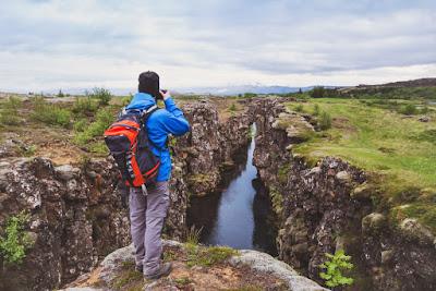 Parque Nacional de Thingvellir, una opción fantástica para visitar en Islandia en Julio