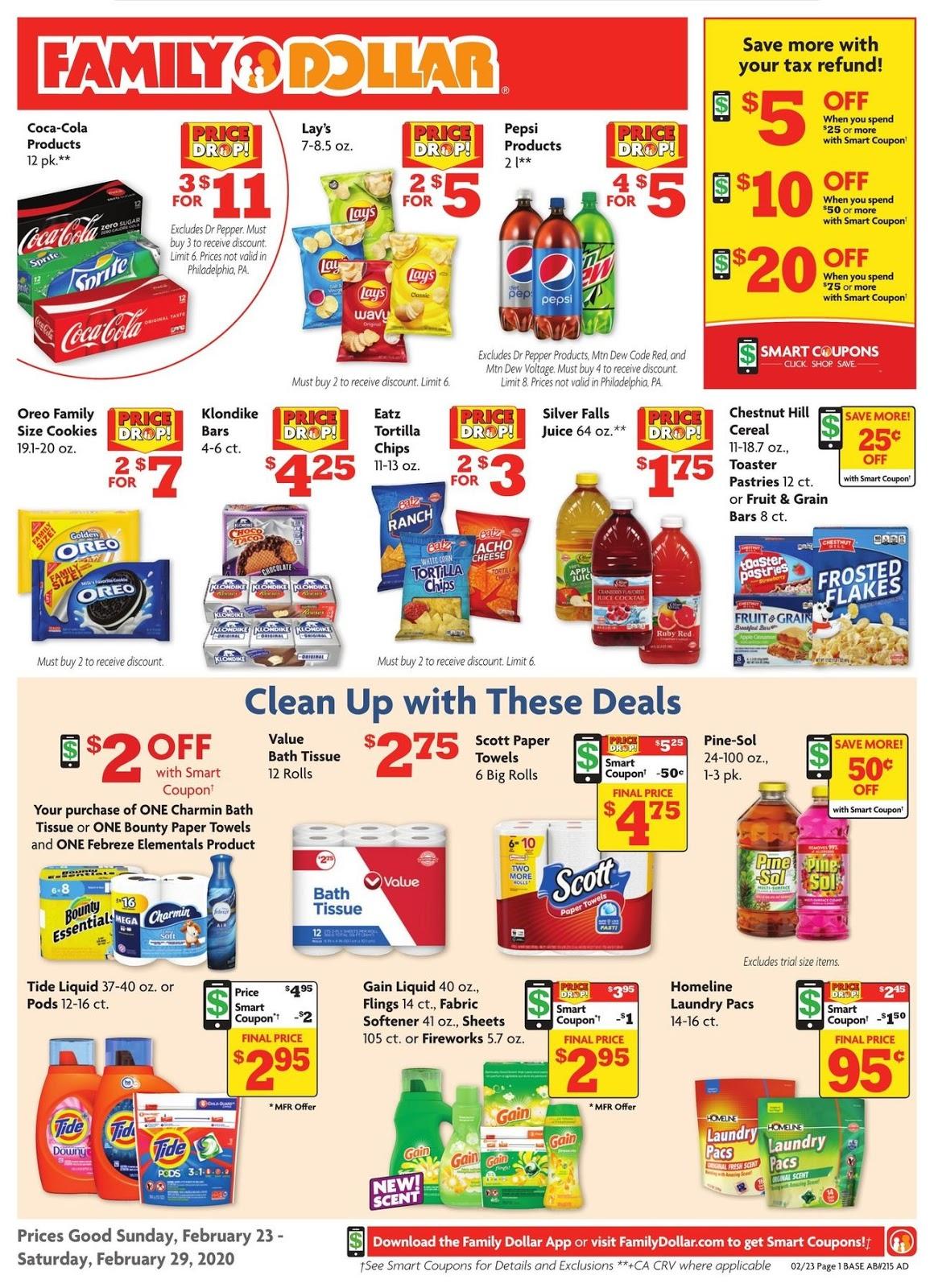 ⭐ Family Dollar Ad 2/23/20 ⭐ Family Dollar Weekly Ad February 23 2020