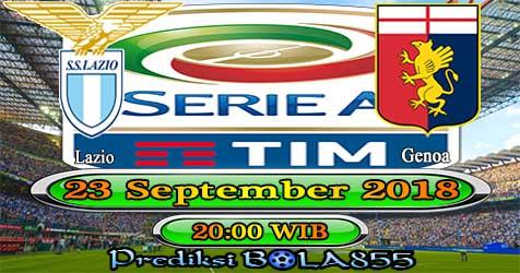 Prediksi Bola855 Lazio vs Genoa 23 September 2018
