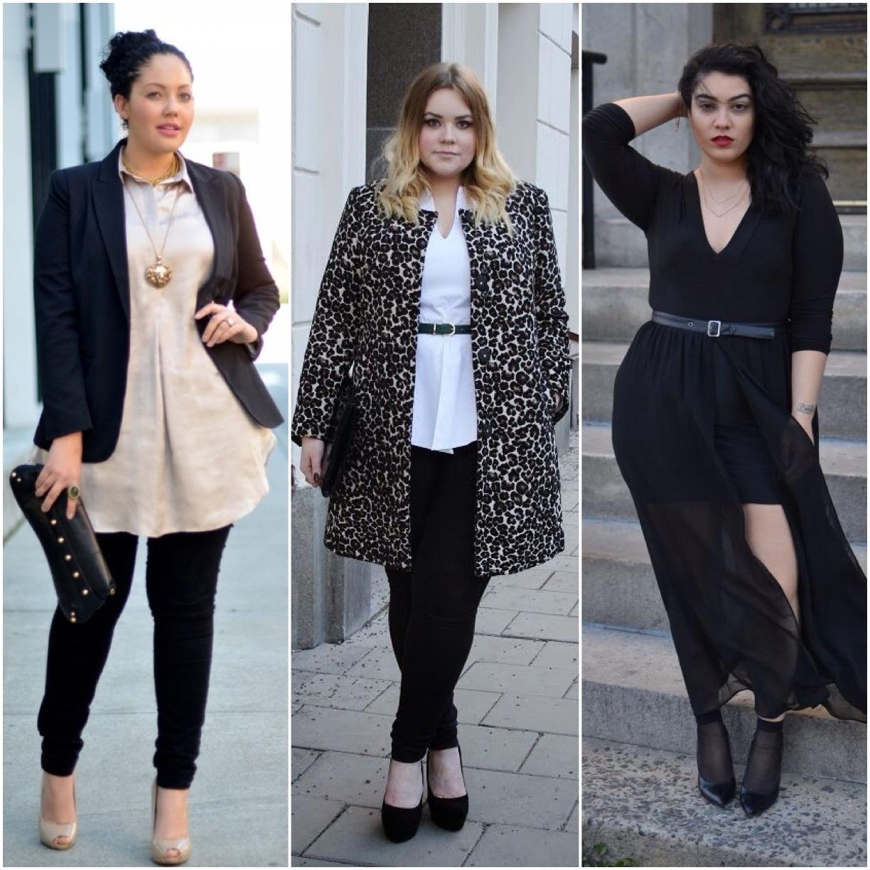 Popolare Les Femmes Rebelles: Moda curvy: idee e outfit per donne formose SC83