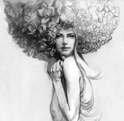 dibujos-a-lapiz-rostros-mujeres-lindas