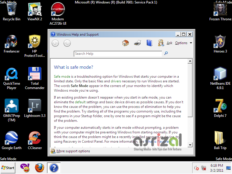 Cara Memperbaiki Consider Replacing Your Battery Pada Windows 7