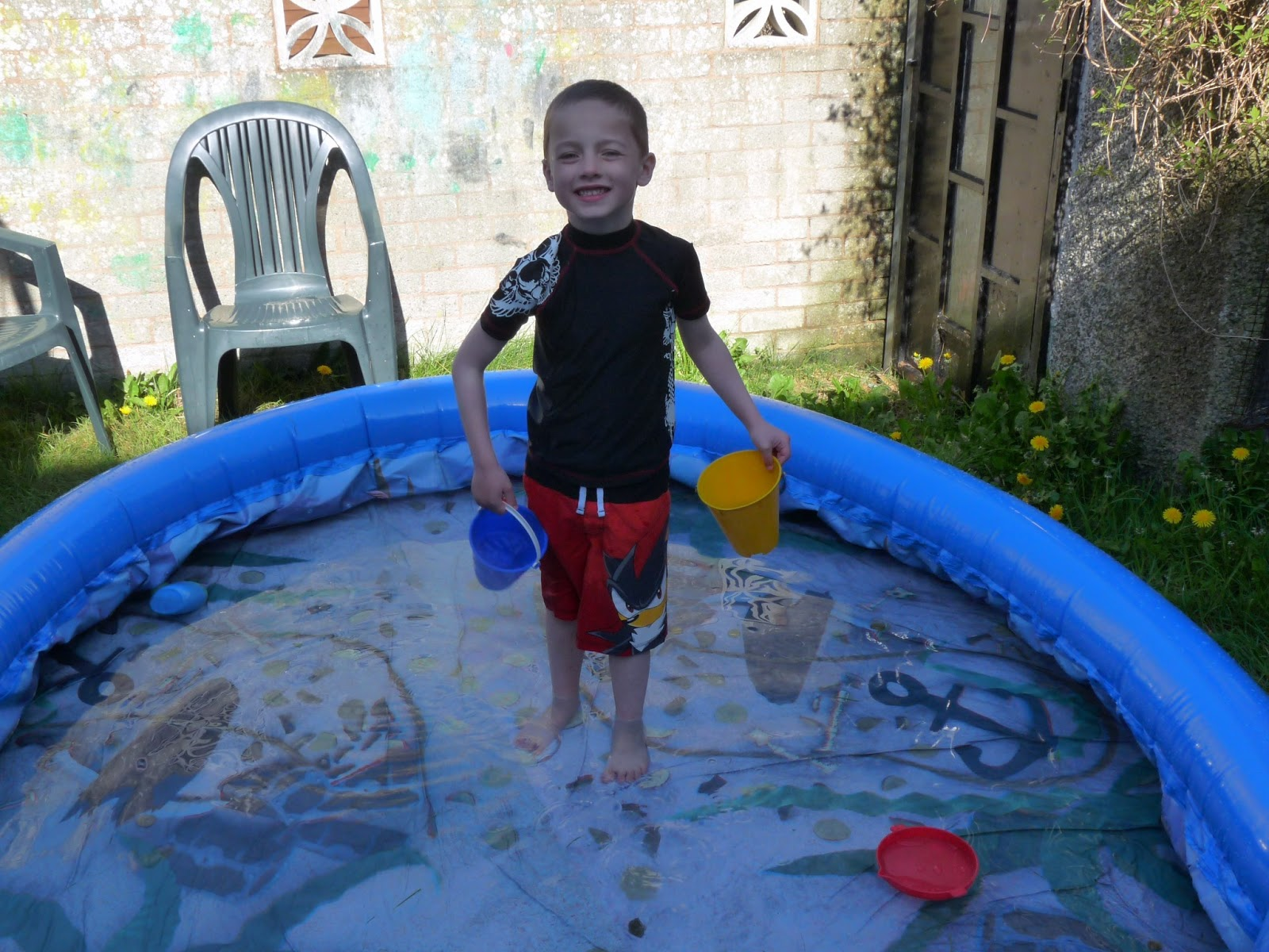 Missing sleep deciding to invest in a pool for Small paddling pool