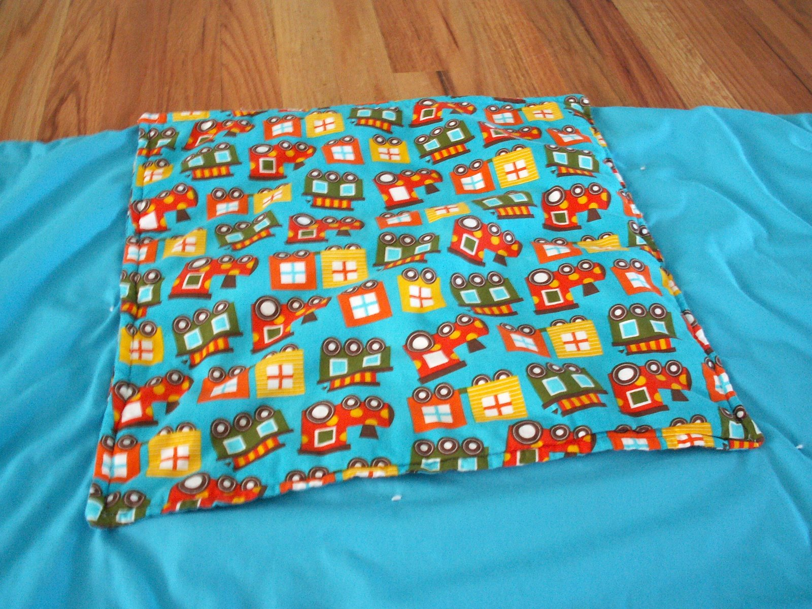 Taking Time To Create Pillow By Day Blanket By Night