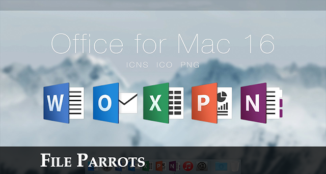 Download Microsoft Office For Mac 2016 Free image logo