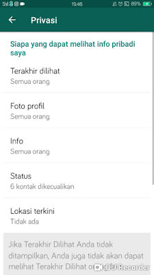 CARA MENGHILANGKAN PHOTO PROFIL DI WHATSAPP
