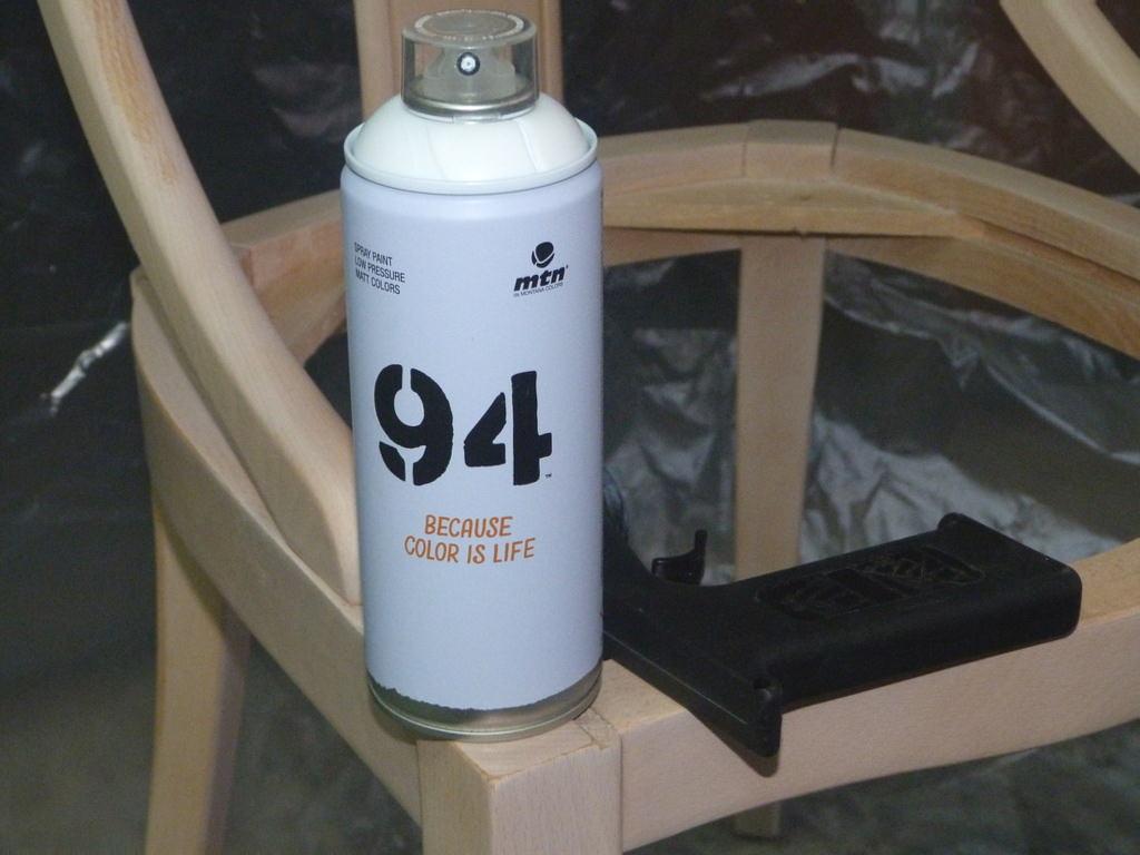 Paso a paso pintar sillas con spray isabel vintage - Pintura con spray ...